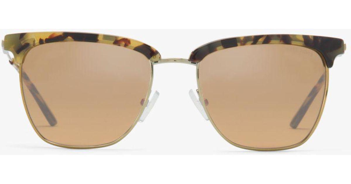 5b615db28dc9 Michael Kors Ely Sunglasses - Lyst