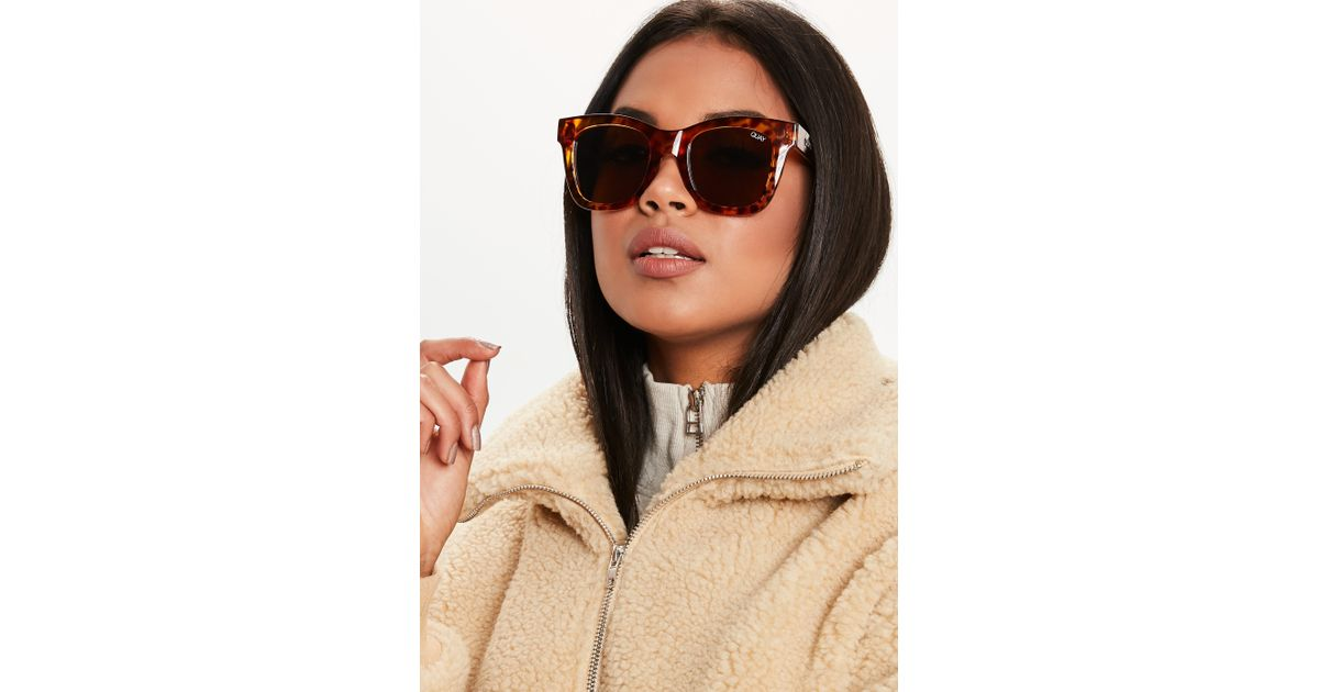 5ee56f5365 Lyst - Missguided Quay Australia After Hours Tortoiseshell Sunglasses