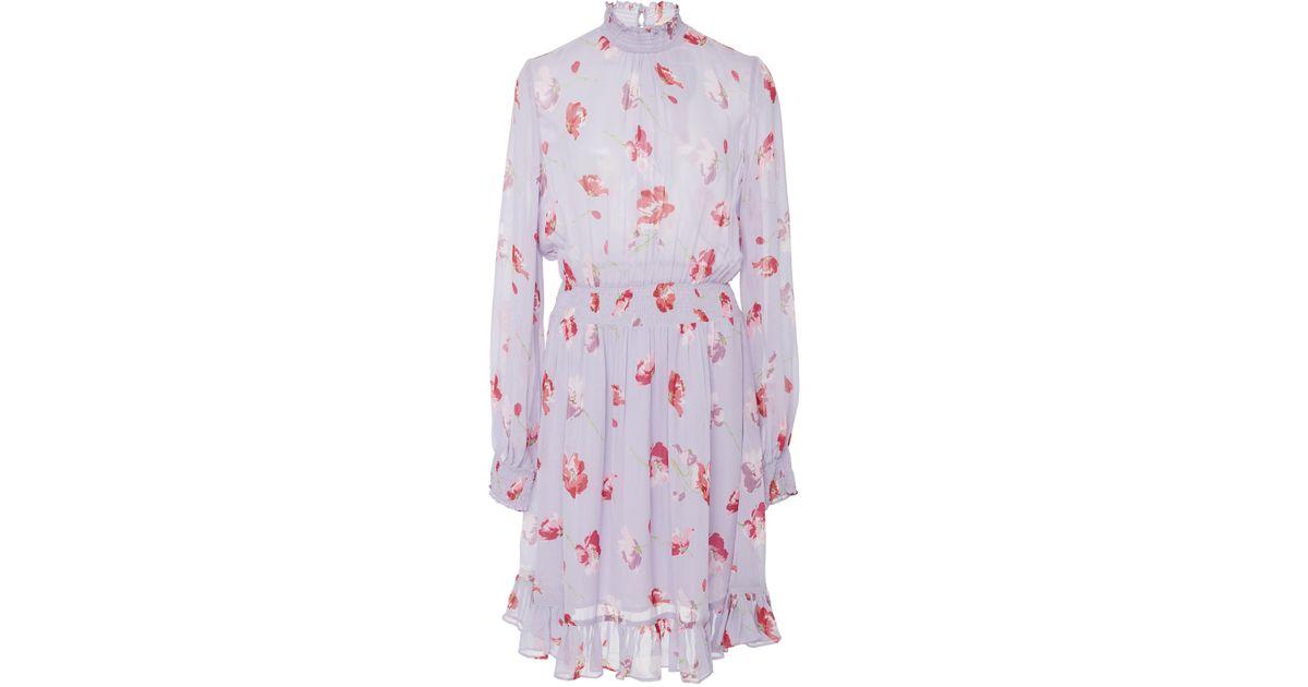 tie detail flared dress - Pink & Purple Semicouture 973Nur1UR