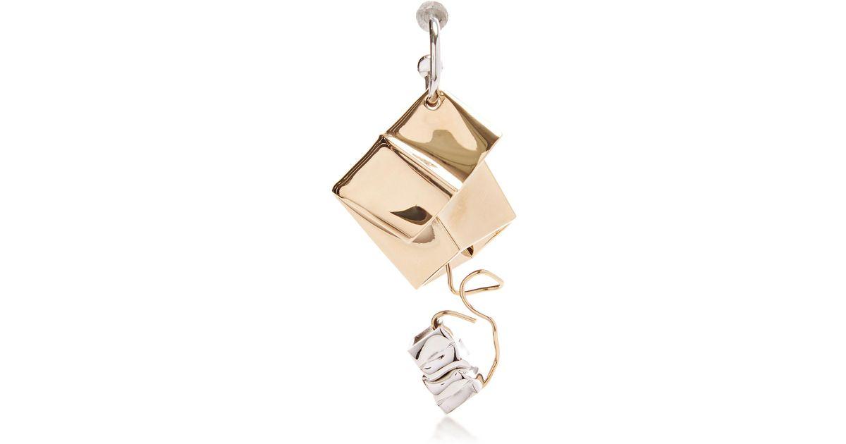 Proenza Schouler Charm and Wire Earring - Metallic uVx4g