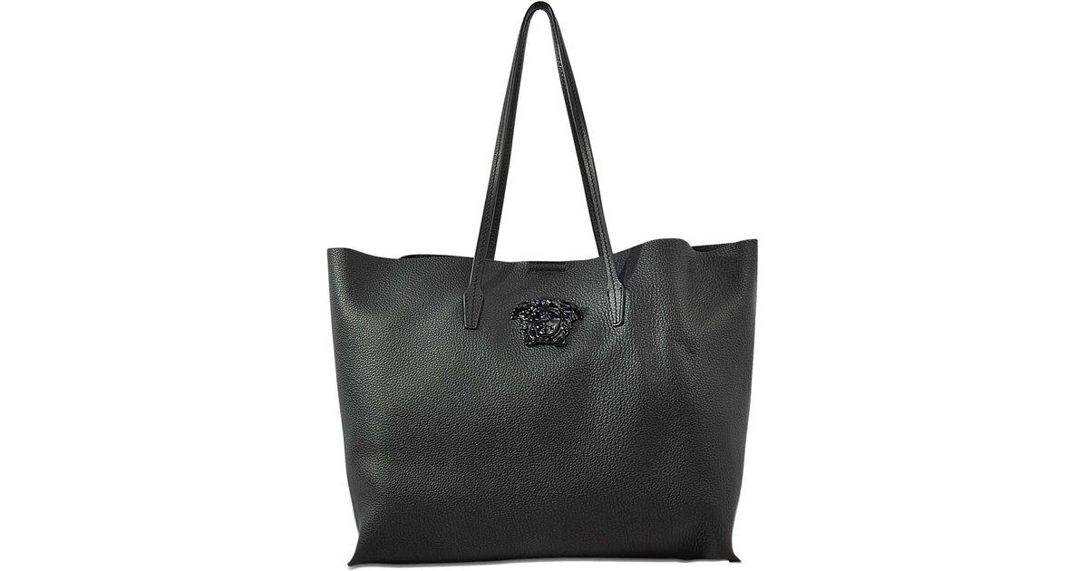 81ffe6ba5 Versace Vitello Tote Bag - Lyst