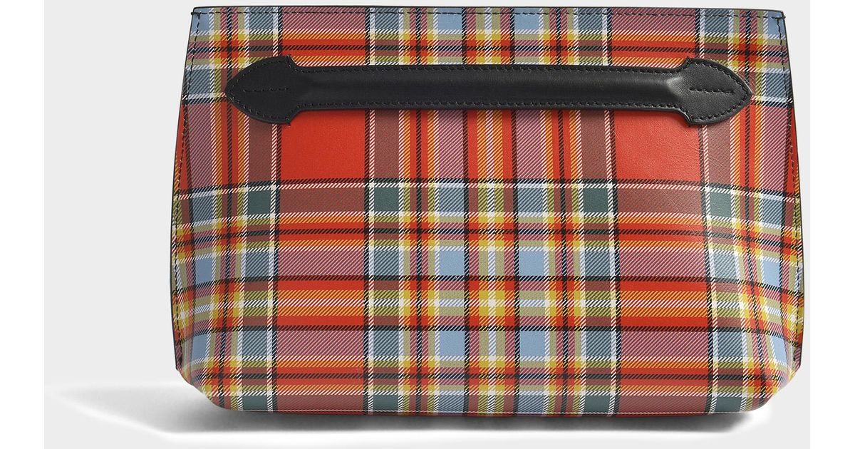 Pendleton Tartan Mix Pouch in Natural Tartan Mix Burberry Clearance Low Shipping lQyie5e