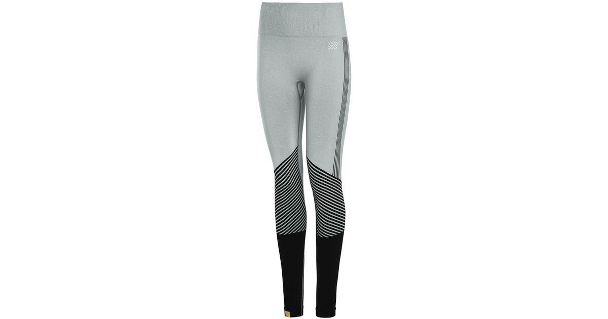 3927e335619421 Monreal London Seamless Biker Leggings in Black - Lyst