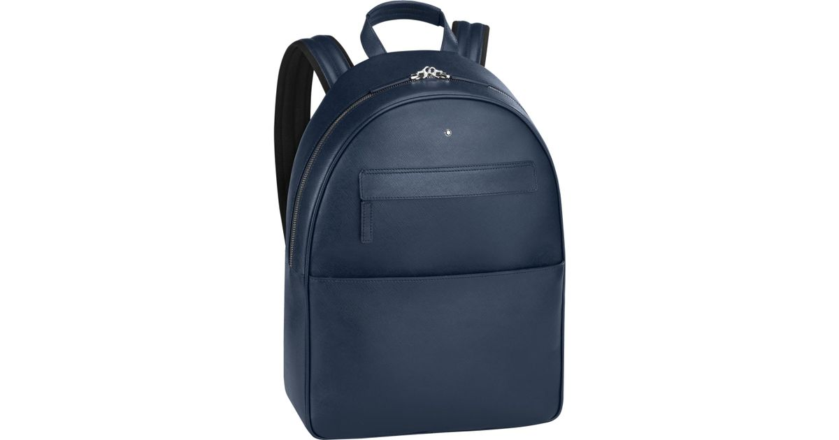 a310e87dc6 Montblanc Sartorial Backpack Dome Large City Bag Indigo in Blue - Lyst