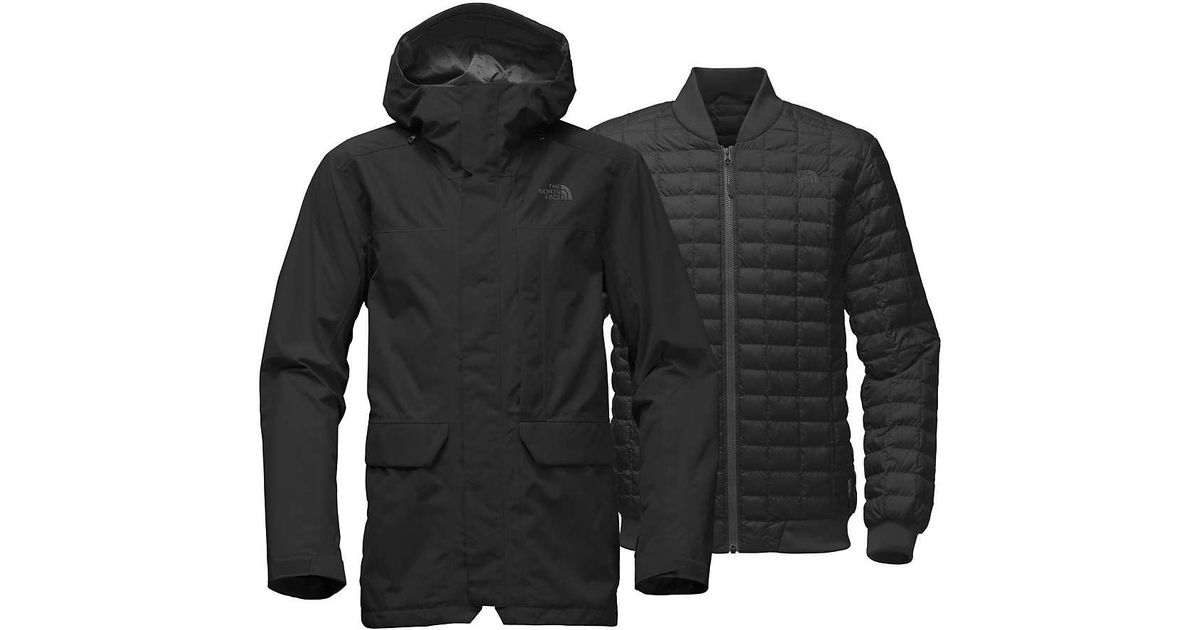 b33d4bfb4 Lyst - The North Face Alligare Thermoball Triclimate Jacket in Black ...