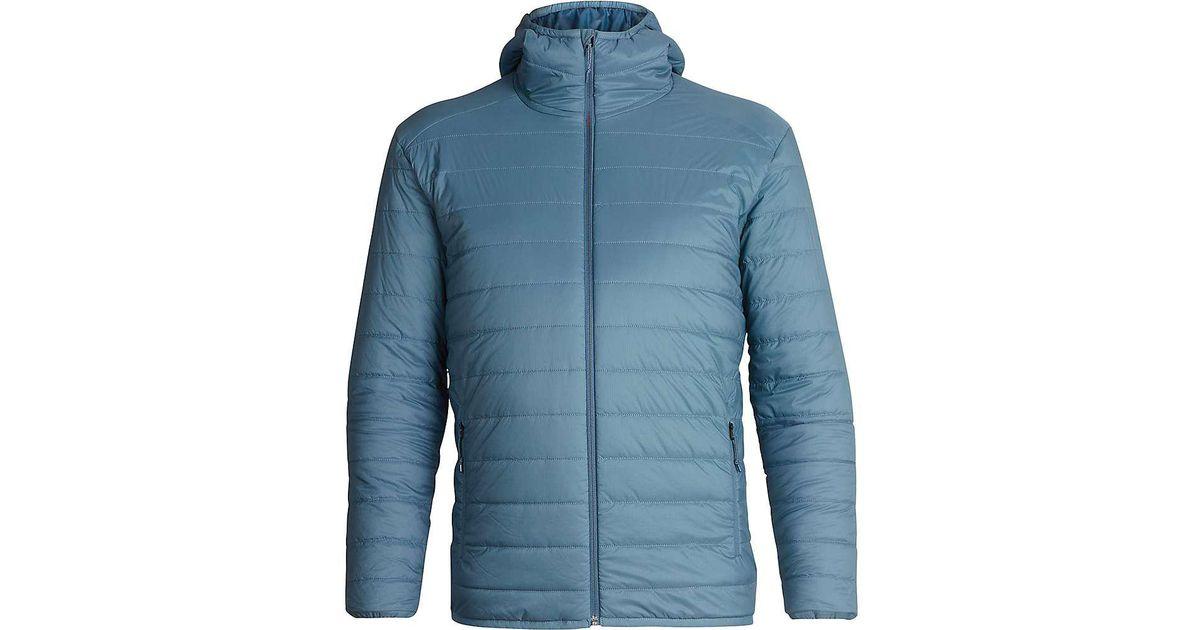 261a9c32fb Lyst - Icebreaker Hyperia Hooded Jacket in Blue for Men