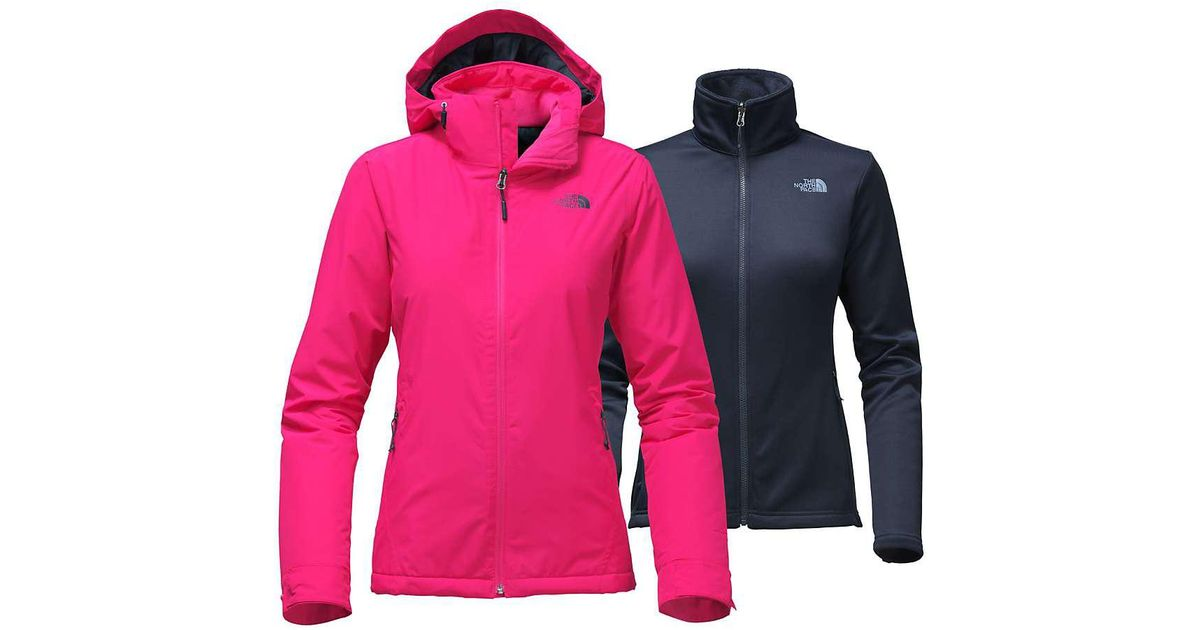 a66532cbf0 Lyst - The North Face Whestridge Triclimate Jacket in Pink