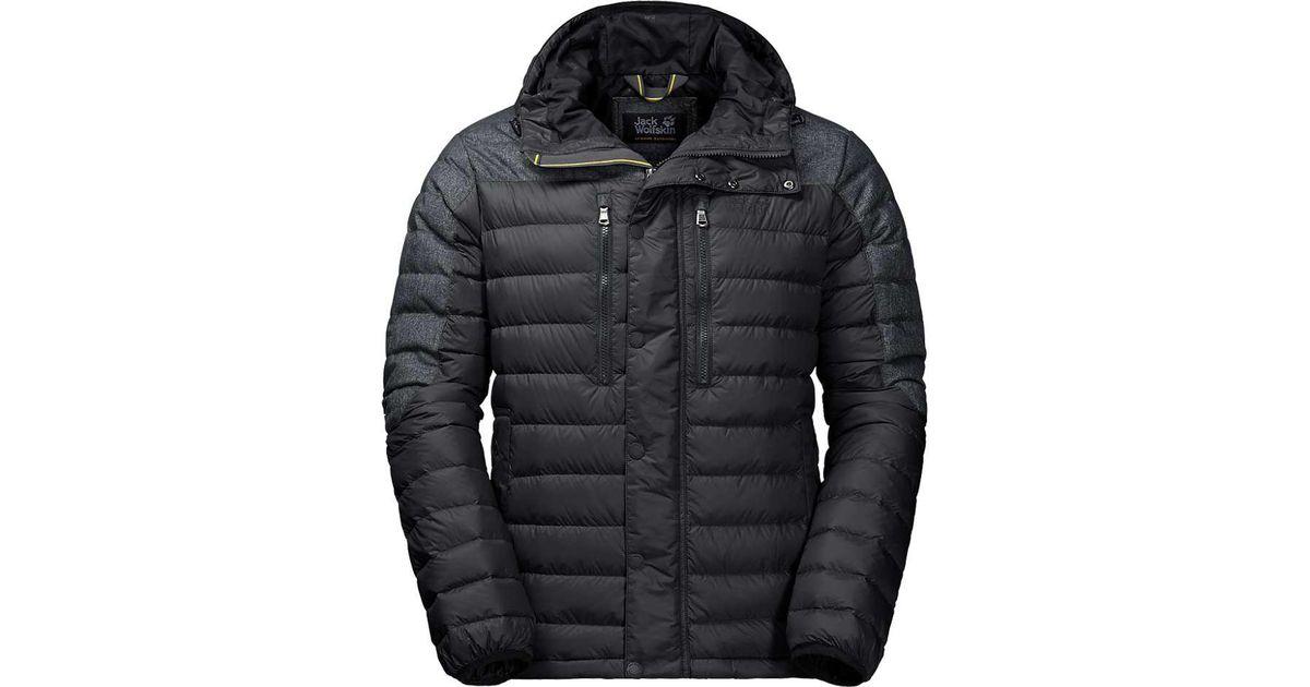 6ffc278c02 Lyst - Jack Wolfskin Richmond Jacket in Black for Men