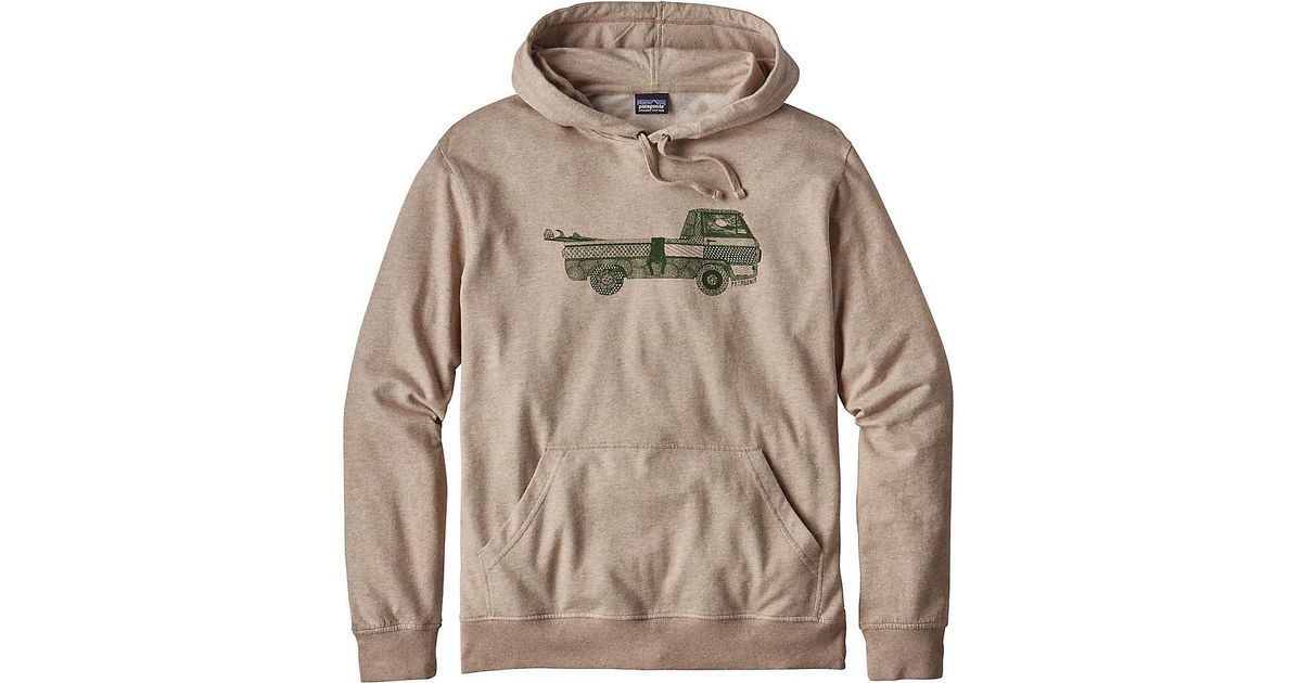 b989d611883 Lyst - Patagonia Pickup Lines Lightweight Hoody in Natural for Men