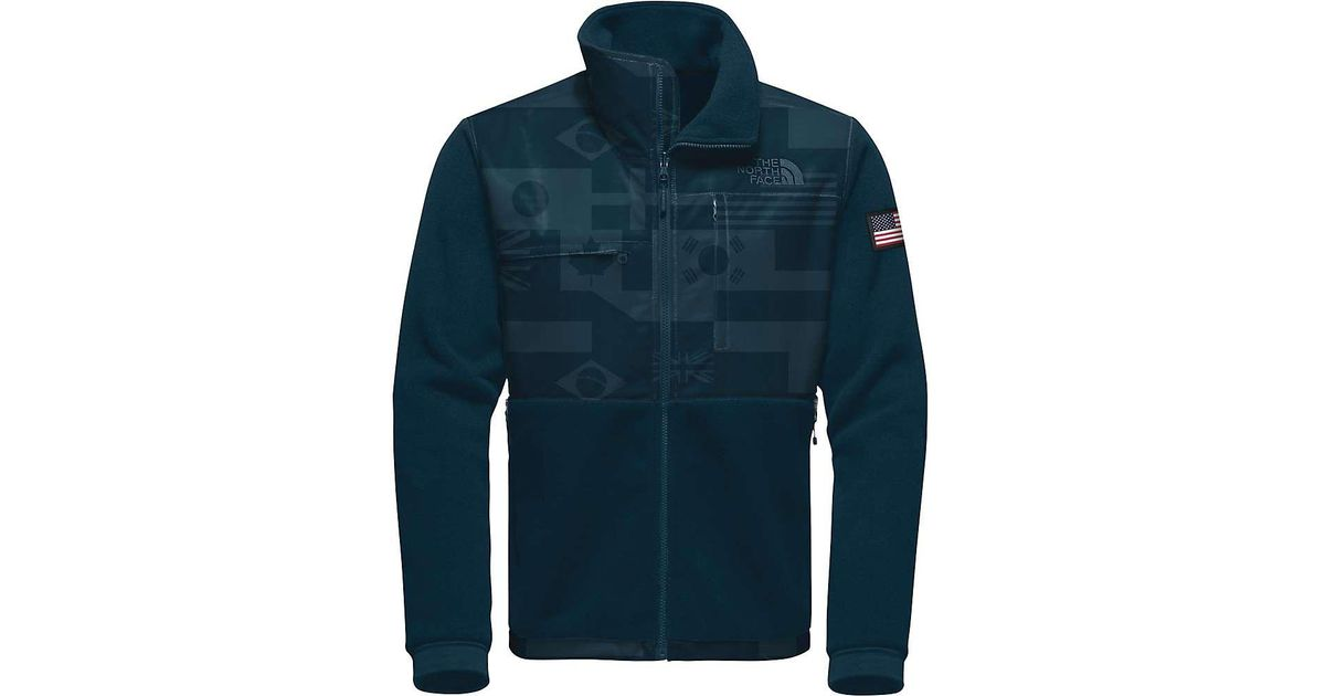 ... free shipping lyst the north face ic denali 2 jacket in blue for men  a9231 2c5b2 309c0dacd