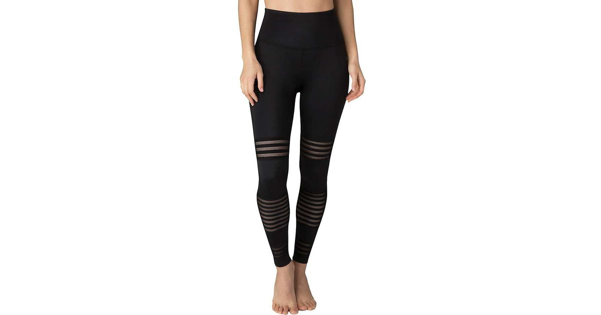 d961ec3825 Beyond Yoga Mesh To Impress High Waisted Midi Legging in Black - Save 53% -  Lyst