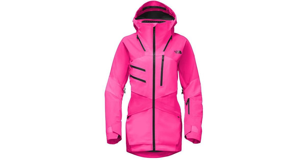 822cabea ... promo code for lyst the north face steep series fuse brigandine jacket  in pink 10f38 bcde2