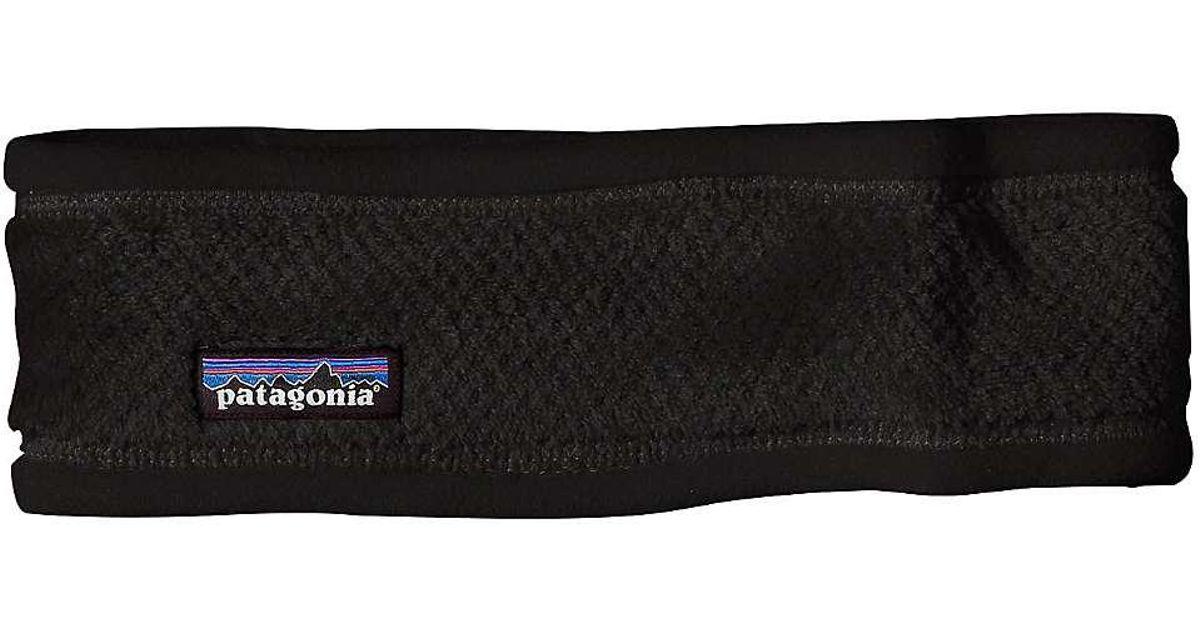 4bee4c4f432f1 Lyst - Patagonia Re-tool Headband in Black