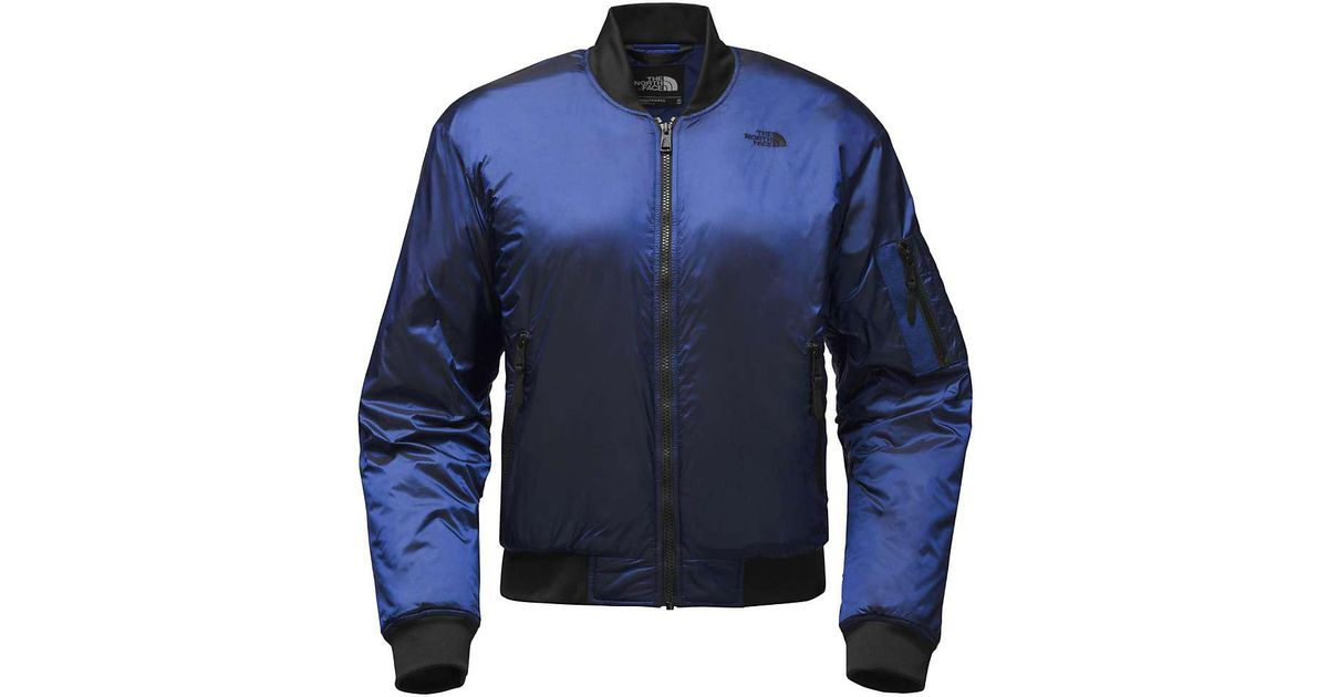 fe13bb9c7 The North Face - Blue Barstol Bomber - Lyst