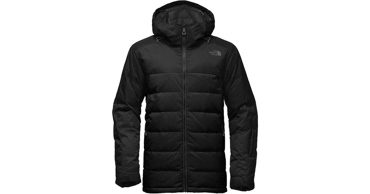 ed54653bd06f ... free shipping lyst the north face gatebreak down jacket in black for men  d2c63 ec7f0