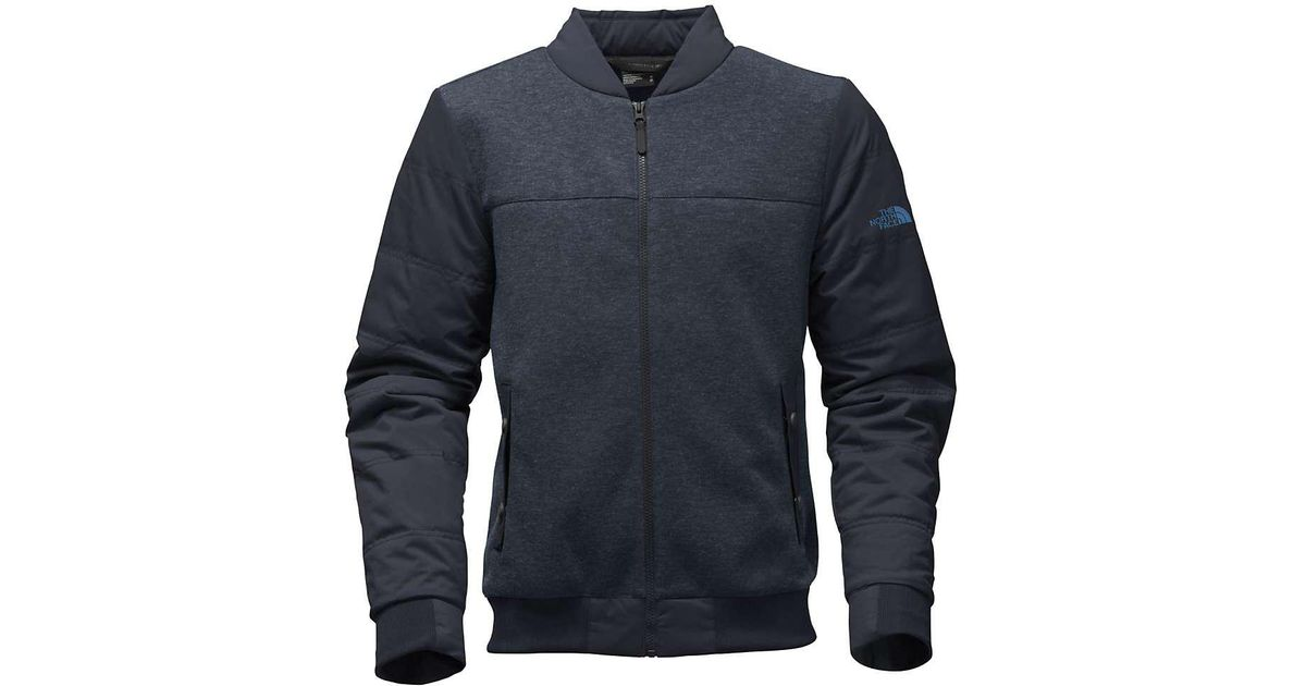 62db86bf62 Lyst - The North Face Far Northern Hybrid Bomber in Blue for Men