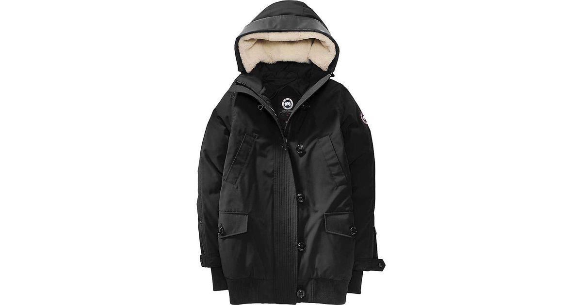 52b275a3095 Canada Goose - Black Finnegan Parka - Lyst