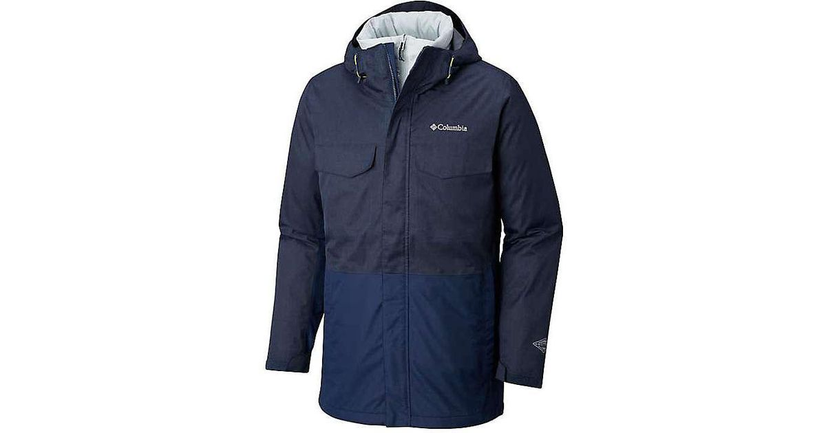 Lyst - Columbia Cushman Crest Interchange Jacket in Blue for Men - Save 27% 420dccd2b