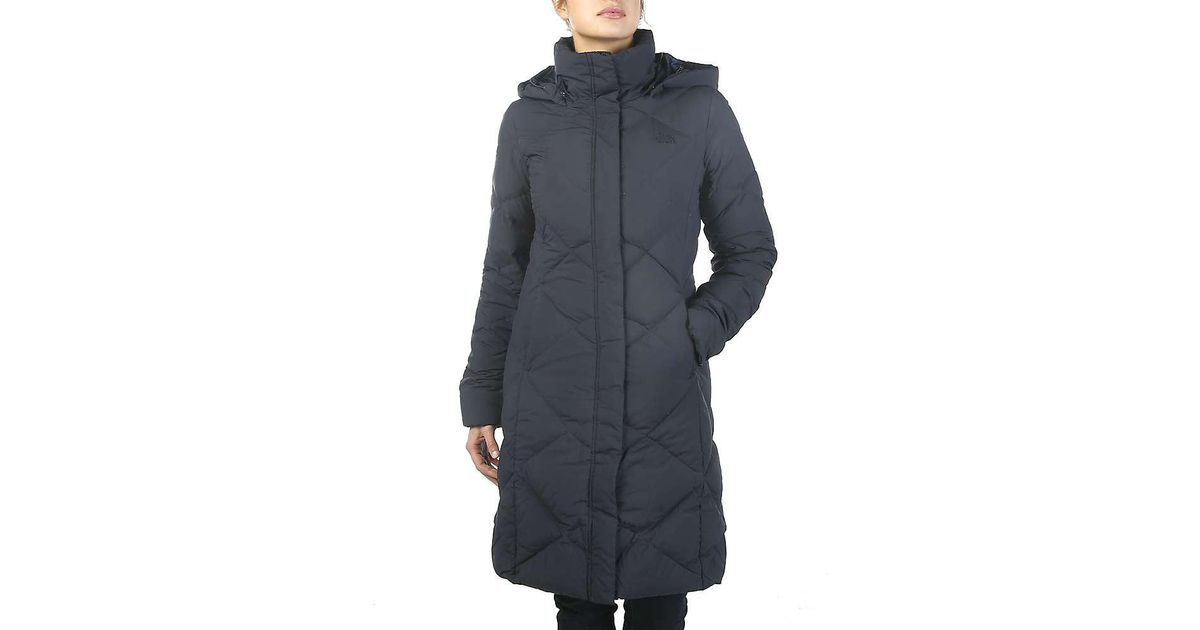 61bda697bb Lyst - The North Face Miss Metro Ii Down Parka in Blue - Save 7%