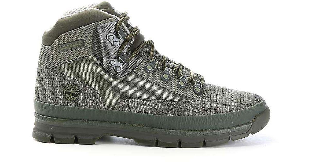 4e5d34d2d64 Lyst - Timberland Euro Hiker Jacquard Boot in Green for Men