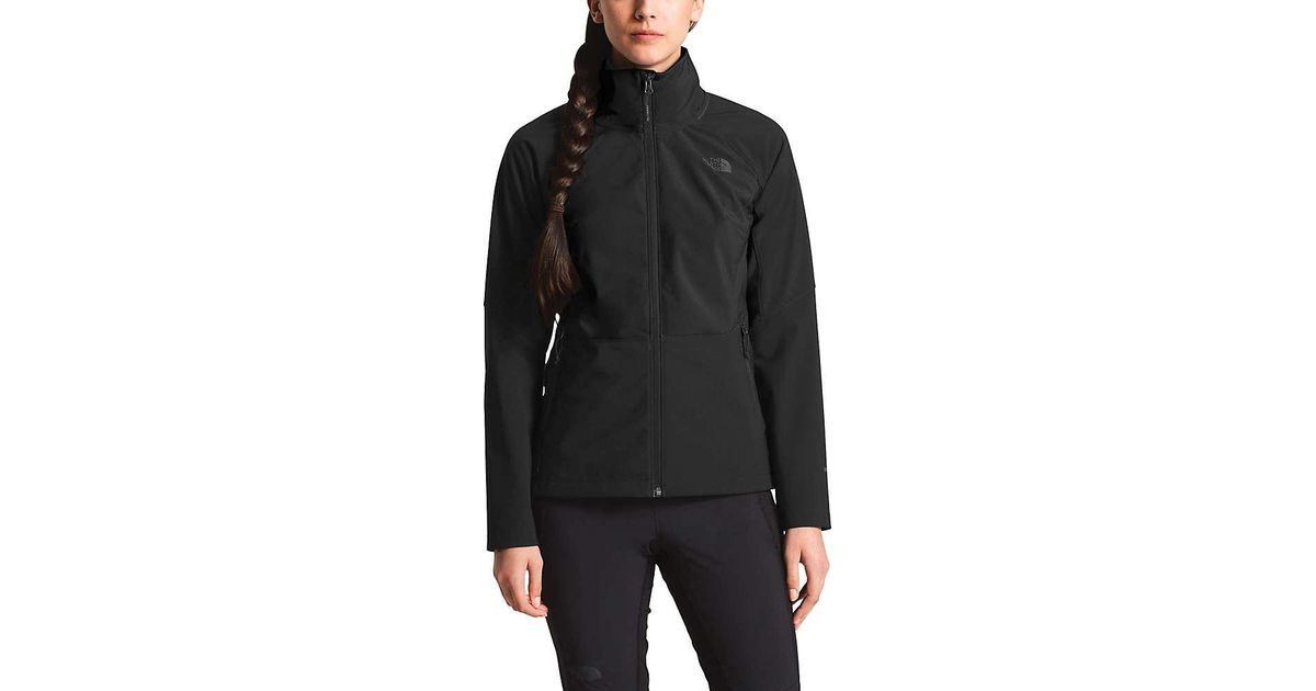 8a3f9bd2efe Lyst - The North Face Apex Piedra Soft Shell Jacket in Black