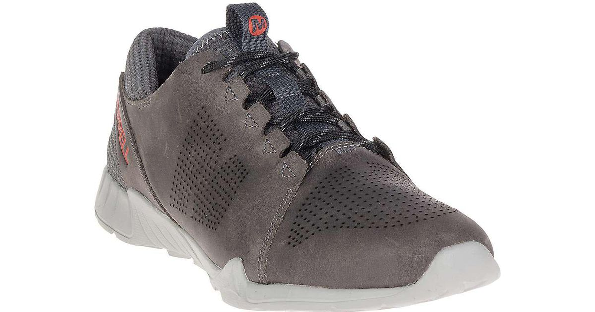 bd07c0bc3c9 Lyst - Merrell Versent Kavari Lace Leather Shoe in Black for Men