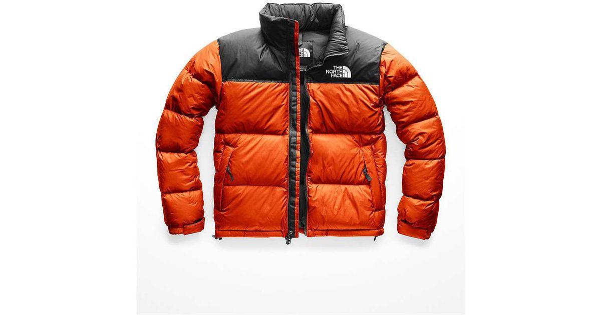 Lyst - The North Face 1996 Retro Nuptse Jacket in Orange for Men 839d5de26