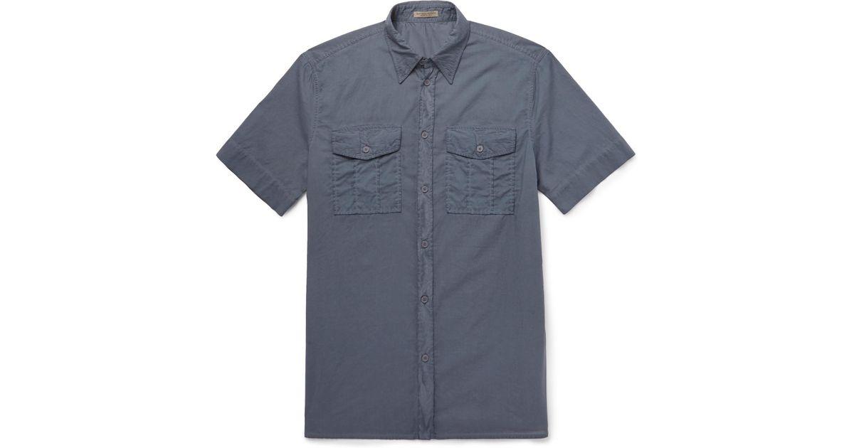 Cheap Exclusive Cheap Sale Nicekicks Garment-dyed Cotton-poplin Shirt Bottega Veneta Cheap With Mastercard hG7VO