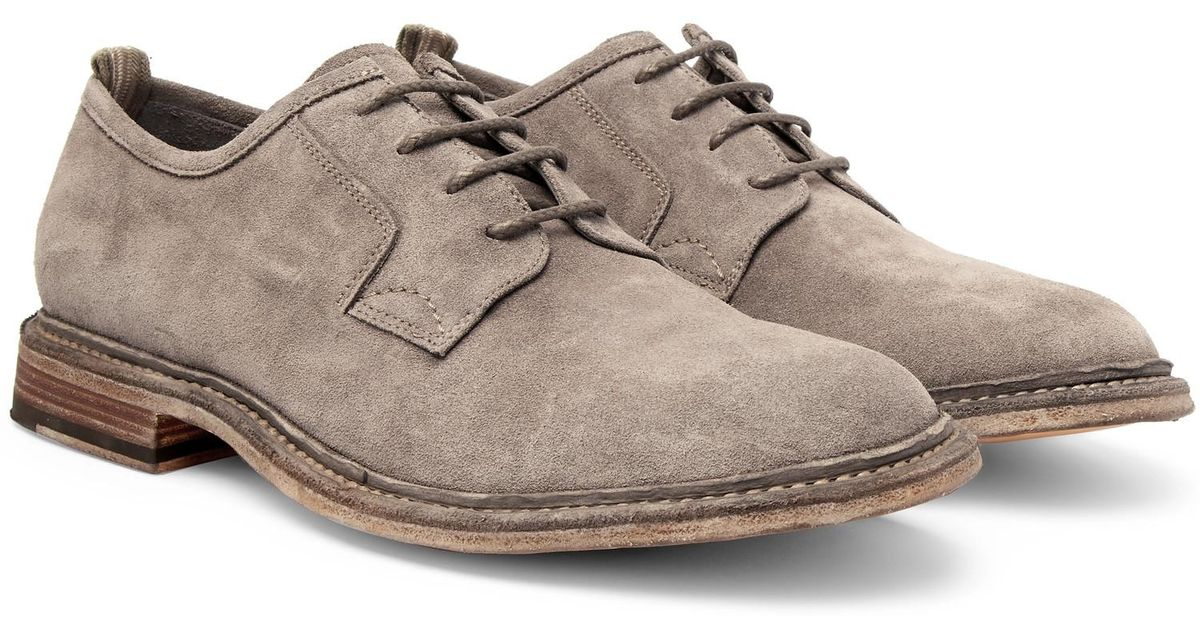 Durham Suede Derby Shoes Officine Creative tJE1GNcWTo
