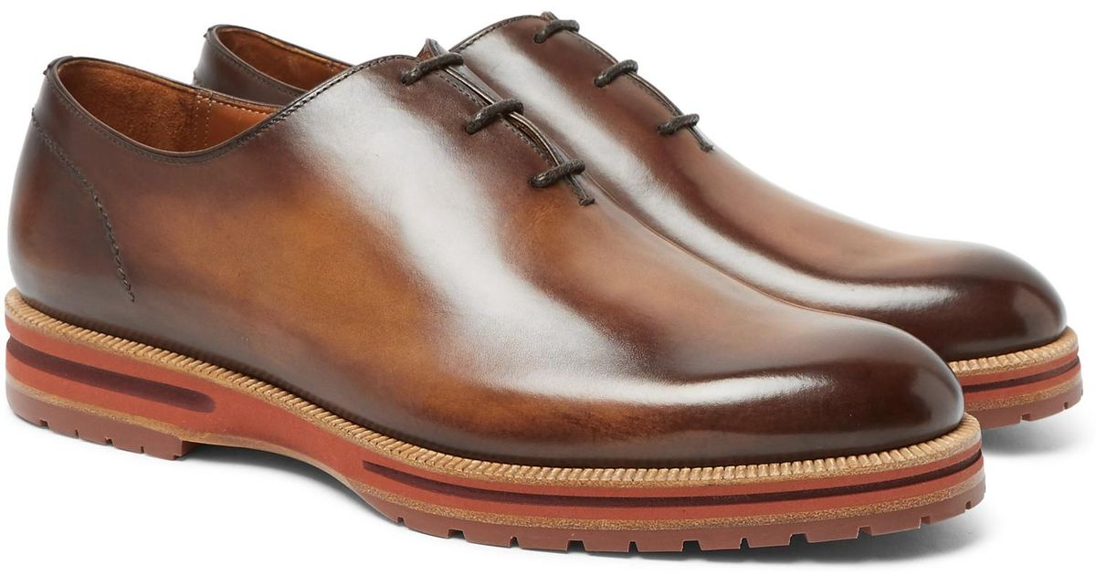 Leather Oxford Shoes Berluti