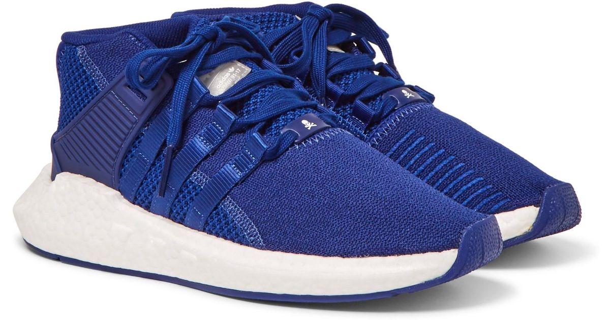 super popular ac6e1 ceab6 Adidas Originals - Blue Mastermind World Eqt Support Future 93/17 Mesh,  Neoprene And Suede Sneakers for Men - Lyst