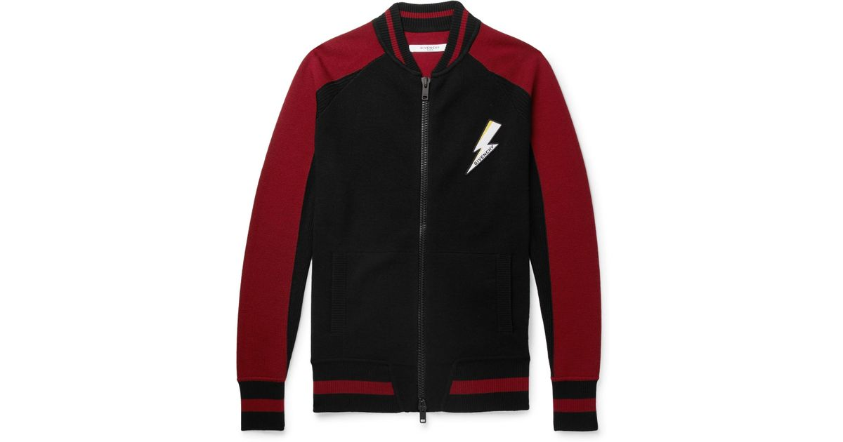 Patch Lyst 762081784386616 In Black Jacket For Men 55 Logo Givenchy Save  Bomber Zw5qS5R 2f697d8ad5d6