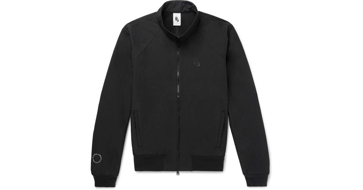 14a1f0e52bf52 Nike + Lebron James X John Elliott Nylon Blouson Jacket in Black for Men -  Lyst