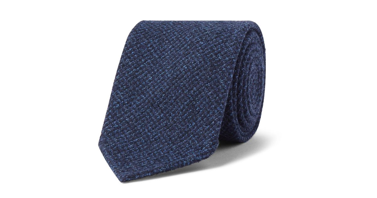 8cm Puppytooth Woven Tie Drake's Discount For Nice Sale Perfect ngZ6g