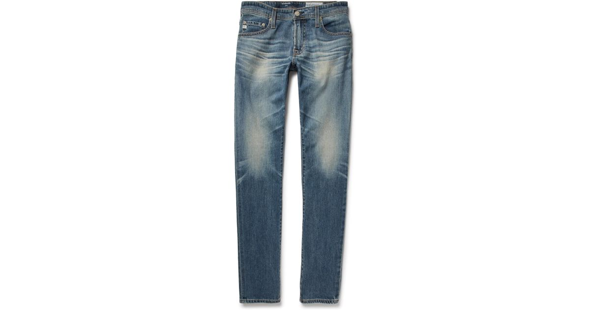 Stockton Skinny-fit Stretch-denim Jeans AG - Adriano Goldschmied Largest Supplier Online Buy Cheap With Paypal Cheap Price Online Cheap Authentic z9EmftiI5