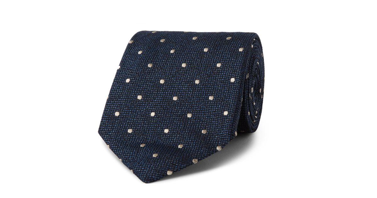 8cm Polka-dot Silk-jacquard Tie Tom Ford 2RQHuNlCk