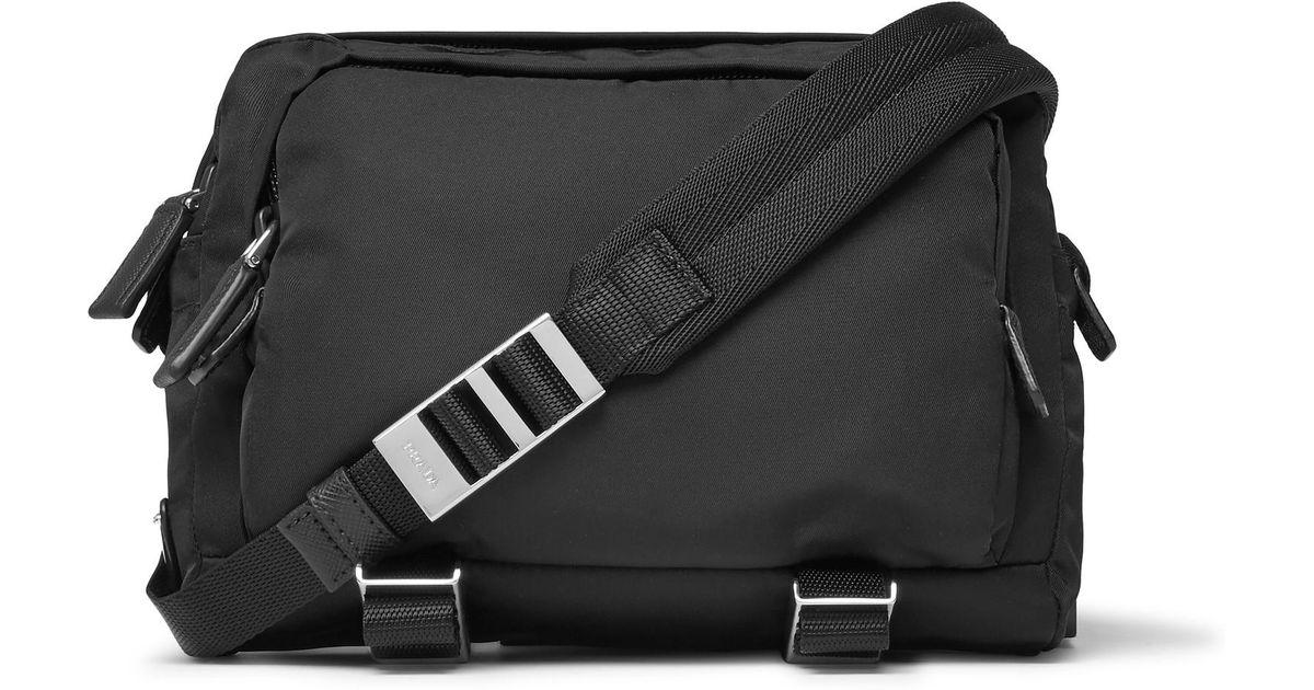 345951d8c597 ... norway prada nylon camera bag in black for men lyst 1e1cd 28c5e