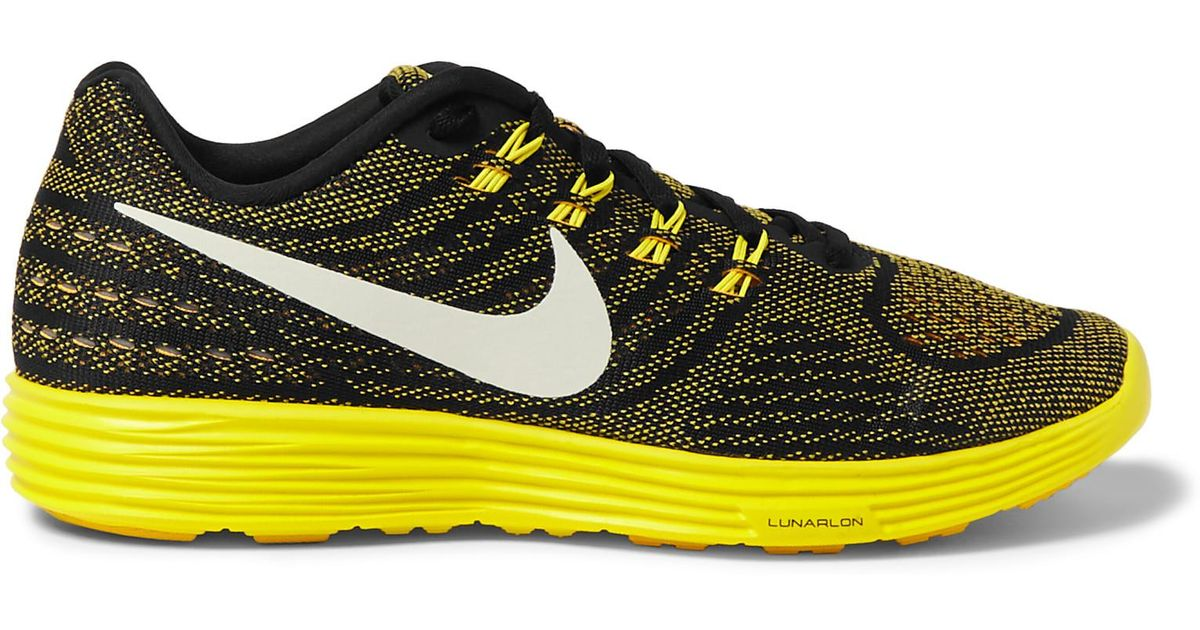 0f401497eb2 ... shop lyst nike lunartempo 2 mesh sneakers in yellow for men 6b88b ee40f