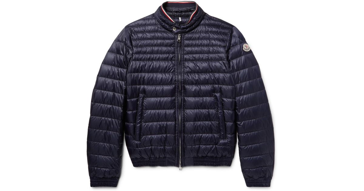 023df38426b Moncler - Garin Quilted Shell Down Jacket - Navy in Blue for Men - Lyst