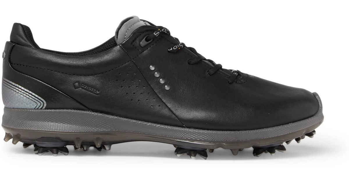93ce678fd1ea Ecco Biom G2 Leather Golf Shoes in Black for Men - Lyst