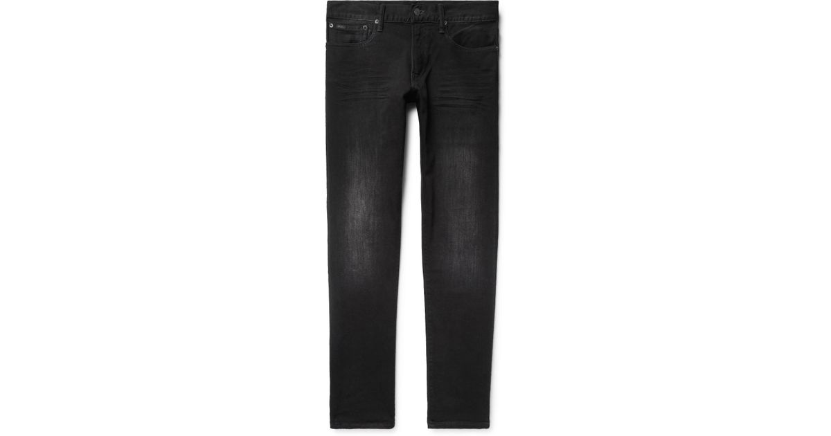 Ralph Black Fit Men Denim Lyst Jeans Skinny Polo Eldridge For Lauren Stretch MSjLqUzpGV