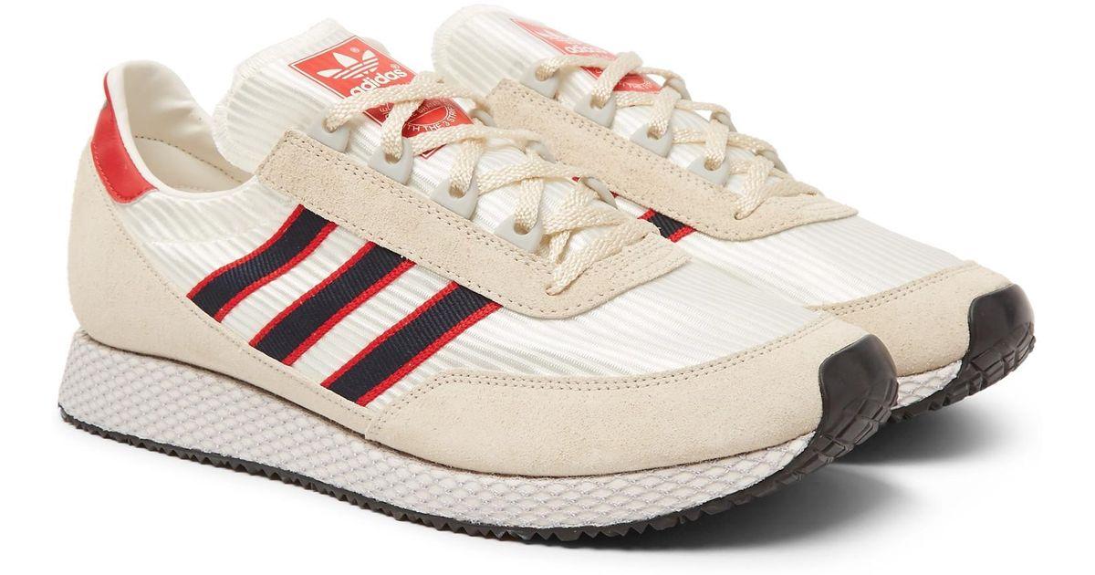 Glenbuck Spzl Suede And Nylon Sneakers adidas Originals DvhujZiQGd
