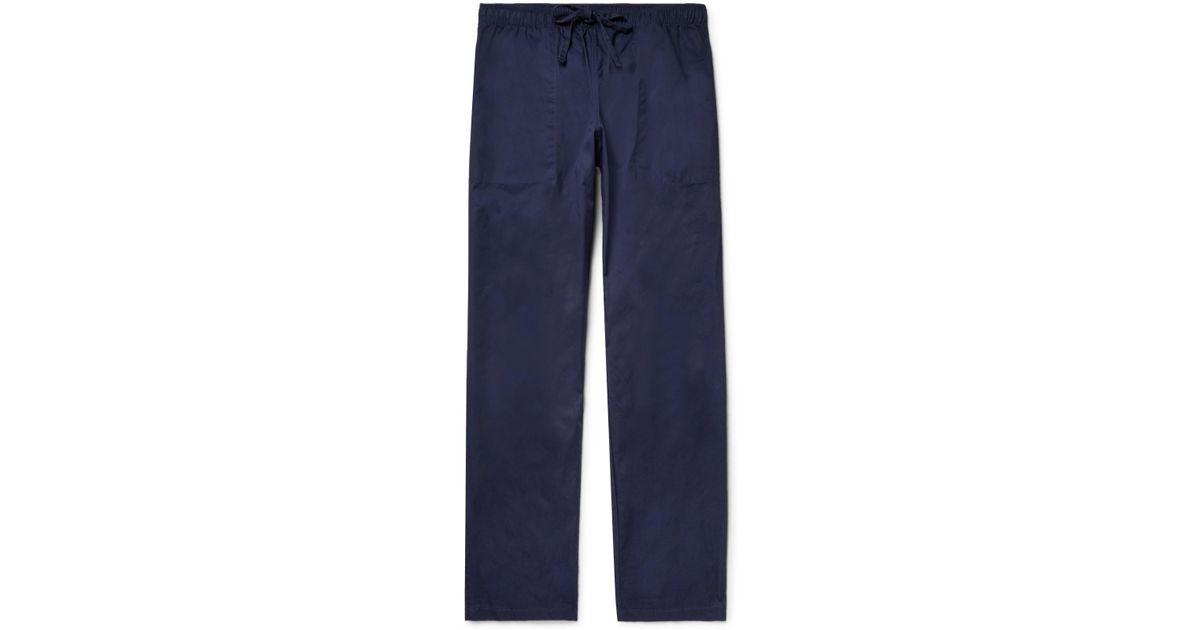 Slim-fit Cotton-twill Drawstring Trousers Battenwear eEC05tw