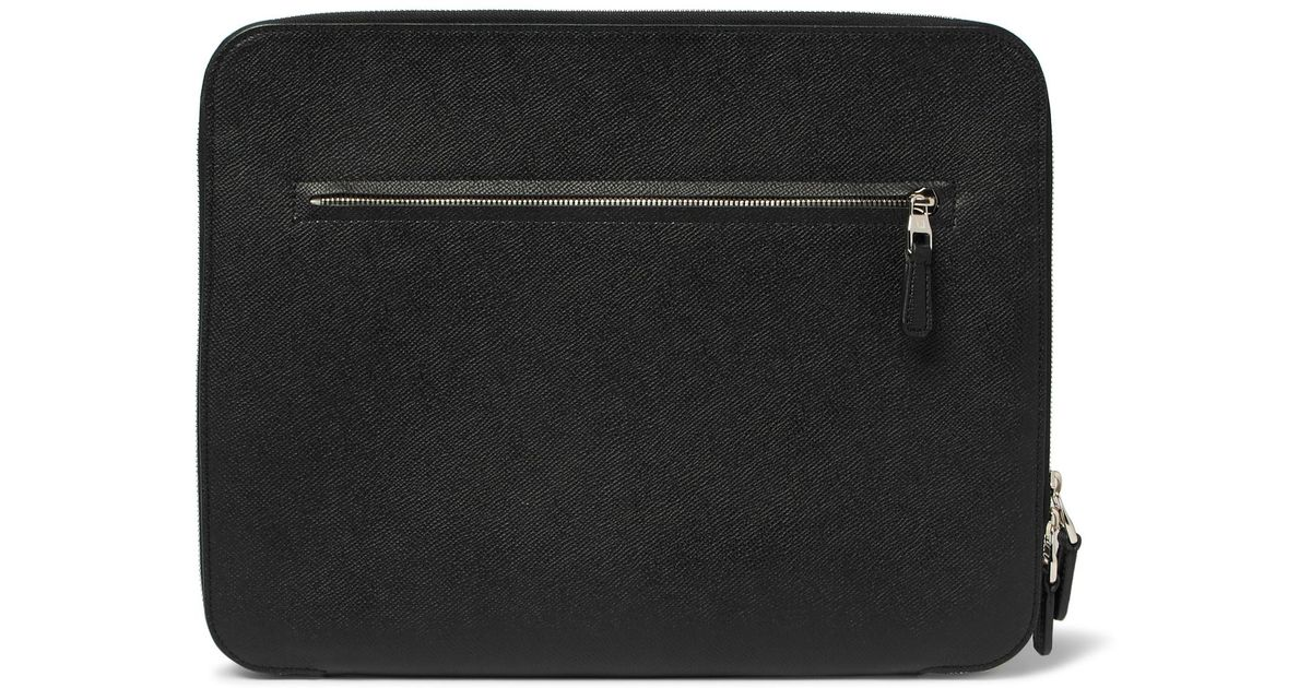 Fashionable For Sale Recommend Cheap Online Dunhill Cadogan Full-grain Leather Zip-around Pouch akFMmFi3Mj