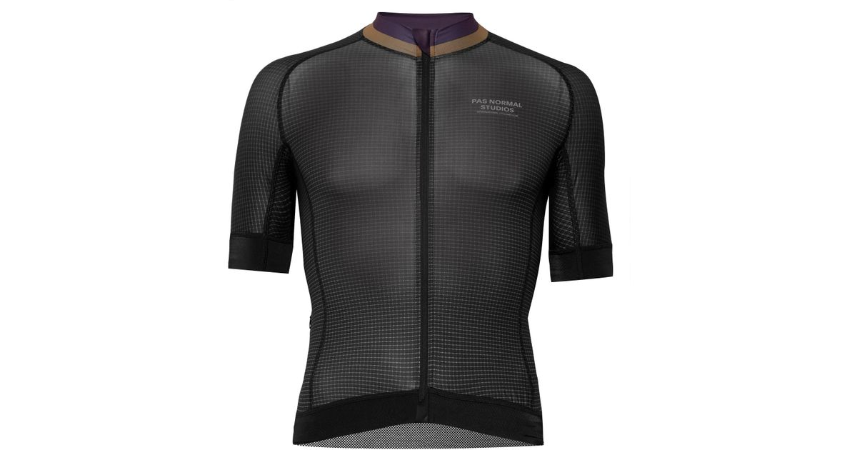 Lyst - Pas Normal Studios T.k.o. Printed Zip-up Cycling Jersey in Black for  Men 10faa1eab
