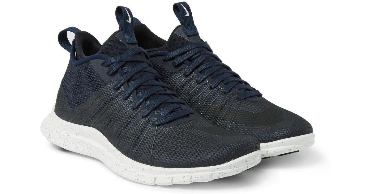 8006e9002c66 Lyst - Nike Free Hypervenom 2 Fs Coated Mesh Sneakers in Black for Men