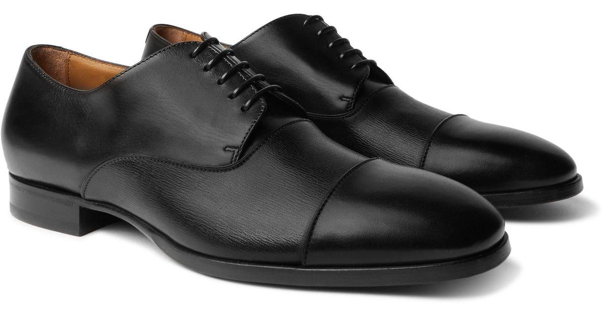 c1fe598c1627e2 Black Lyst Derby Toe In Shoes For Men Leather Boss Traveler Cap 6wZP6qBR. '