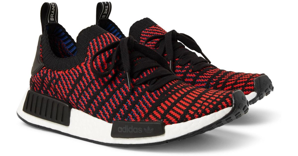 460e8a089 ... coupon code for lyst adidas originals nmd r1 stlt primeknit sneakers in  red for men a3f1a
