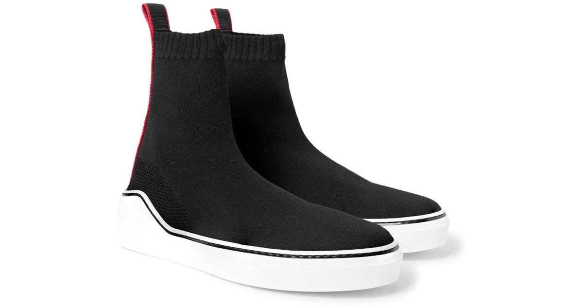 Black knitted sneaker Givenchy MXO8IuaRF9