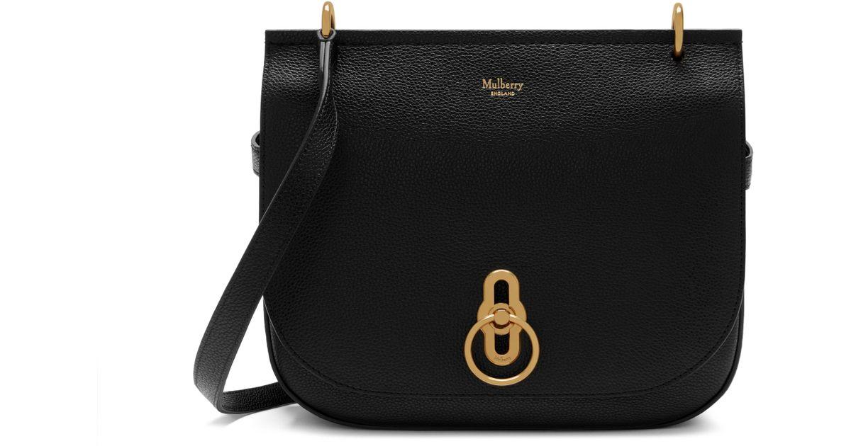 f6ec2525579f ... ireland lyst mulberry amberley satchel in black save 14 31575 be12c
